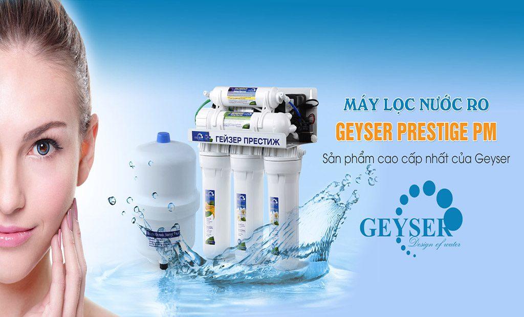 Máy lọc nước RO Geyser Prestige PM Nhập khẩu